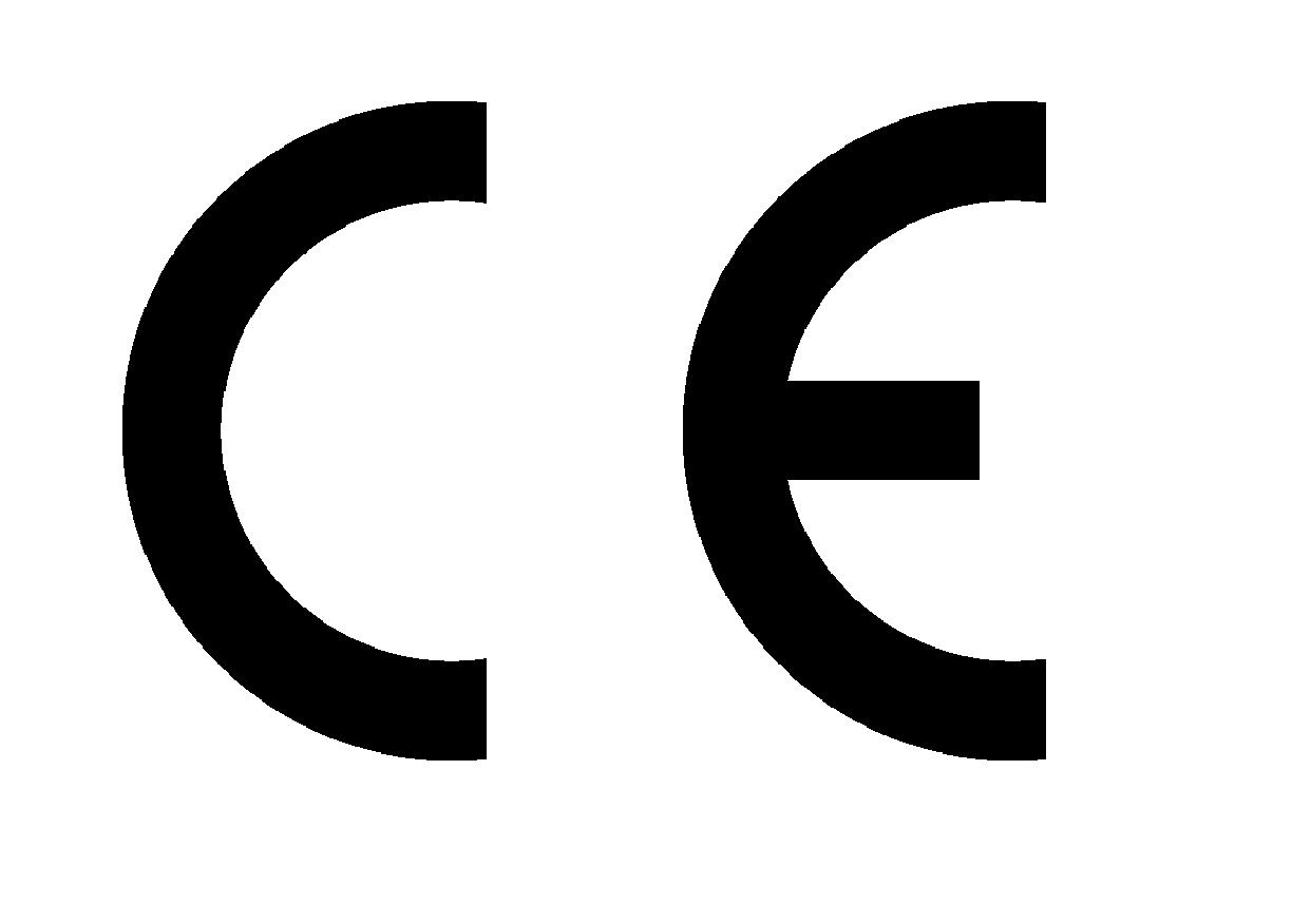 CE logga.