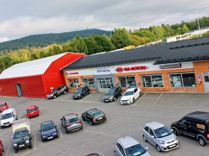 Bilhallen i Sundsvall 12-15 meter