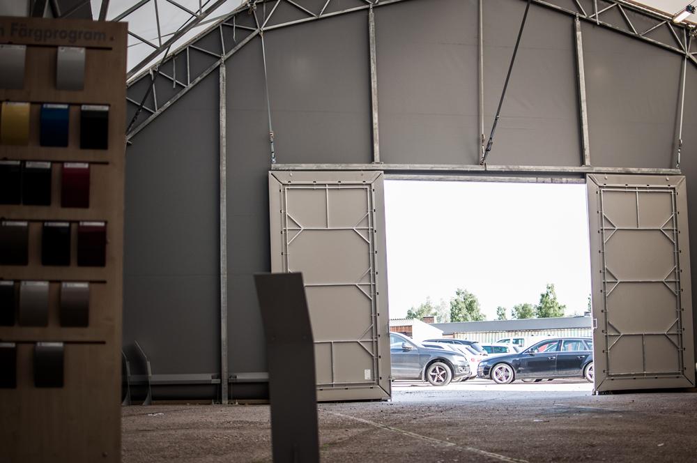 Bilmetro i Falun hyrde sin hall under renoveringen