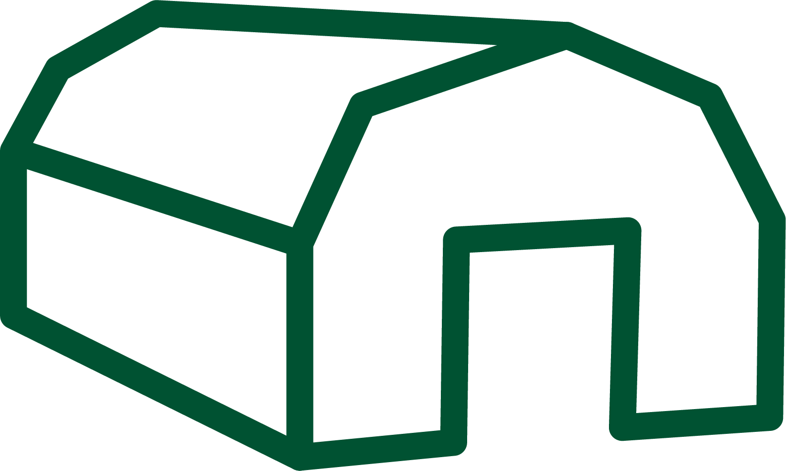 Tält ikon