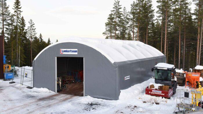 Kampanjhall hos Lambertsson