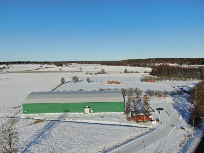 Gullspång Arena - En grön idrottshall i kommunen Gullspång