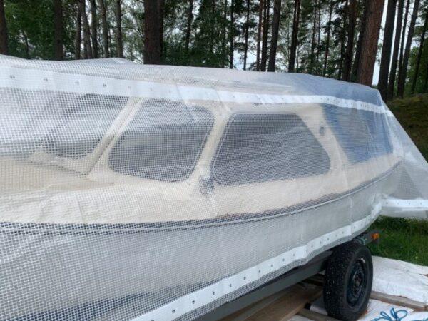 Båt täck med Båtpresenning Flex