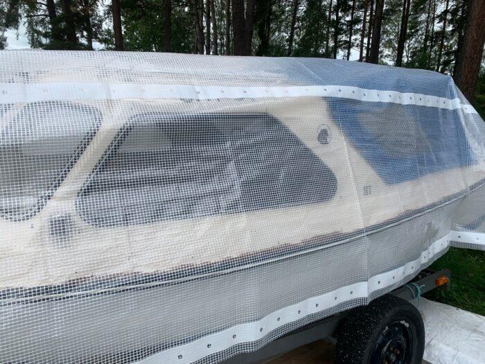 Formskär Båtpresenning Flex efter din båts modell